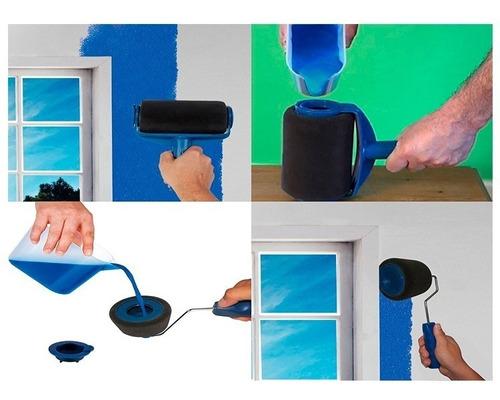 paint roller rodillo recargable pintar completo + envio
