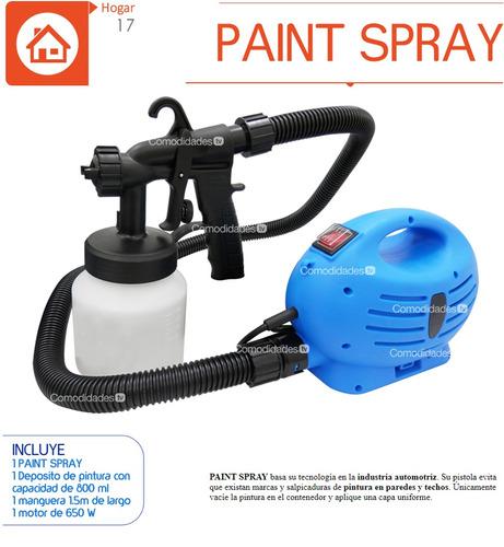 paint spray compresora pintar pistola total painter 17