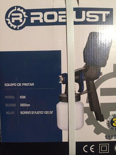 paint zoom pistola portátil compresor unico q soporta tinner