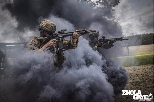 paintball granada humo
