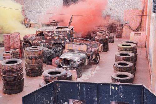 paintball guerra de pinturas,cumpleaños,eventos,toda edad!!!