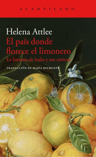 país donde florece el limonero, helena attlee, acantilado