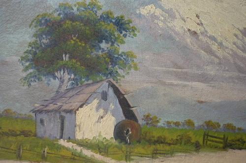 paisaje campestre aprox. 1900 - 1920