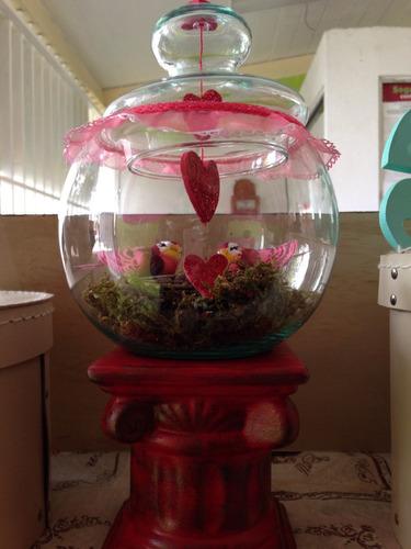paisajes en vidrio. día del amor o día de las madres!!