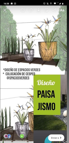 paisajismo- diseño de exteriores. obra /planificación