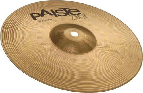 paiste splash 10 platillo series de bronce 201 sp-10