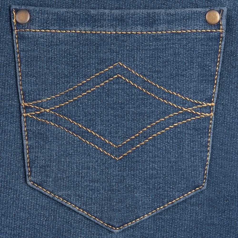 ad8ce79a22962 Pajamajeans Mujeres Novio Stretch Tejido Jeans Jeans En Blue ...