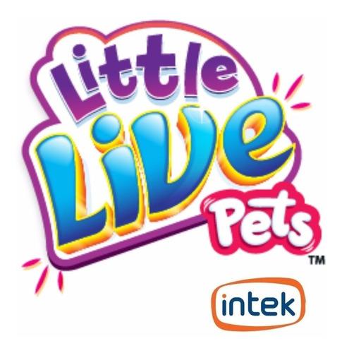 pajarito cantor little live pets cantan intek - mundo manias
