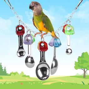 Colorido Pájaro Juguetes Masticación Plástico Loro Jugar HbeEIWD92Y