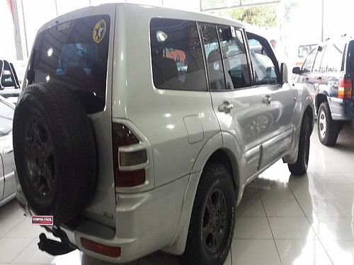 pajero 2.5 diesel autom  4x4 8v tb 2001 - aceito troca