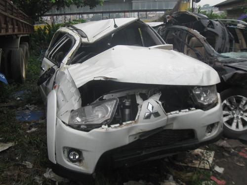 pajero dakar 2013  sucata para  peças - planeta motor