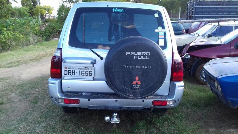 pajero full 3.2 turbo diesel sucata p peças usadas