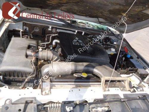pajero gls 3.2 sucata peças motor cambio cabine diferencial