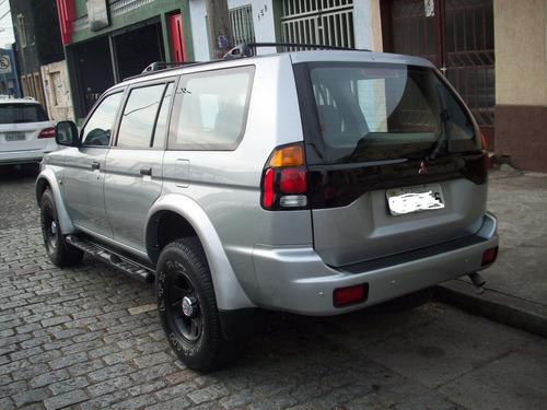 pajero sport  3.0  4x4 automatica  prata  2000 nova