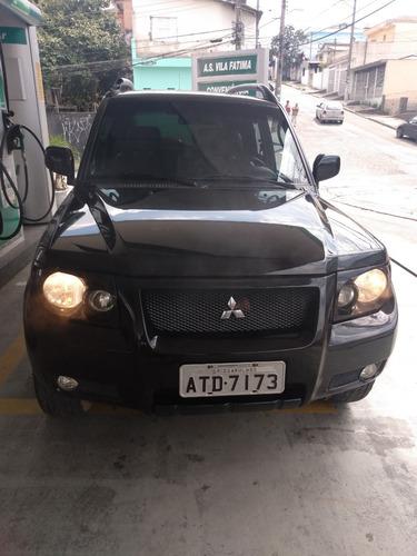 pajero tr4 2009 flex 4x4 automática completíssima