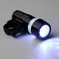 pak 10 kit luz de 5 led delantera 5 led trasera p bicicleta