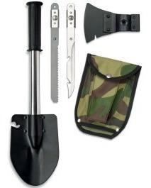 pak 2 pala multifuncional 4 en1 cuchillo hacha sierra kit