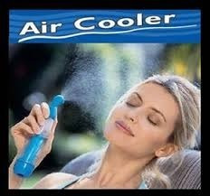 pak 2 ventilador con nebulizador agua air cooler sin pilas