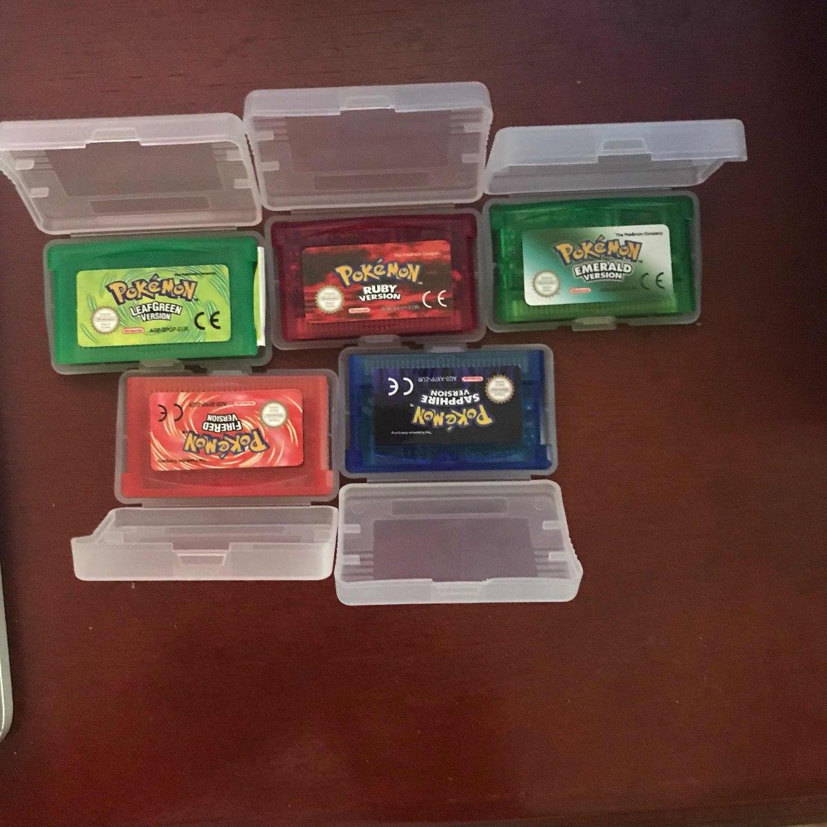 Pak 5 Juegos Pokemon Espanol Re Pro Envio Gratis 1 199 00 En