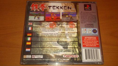 (pal) tekken psx ps1 original español