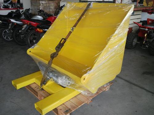pala cargadora 0,75 m3 llenado bolsones big bag