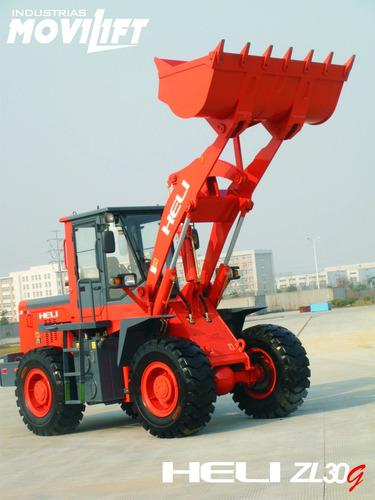 pala cargadora 2 m3 - heli nueva