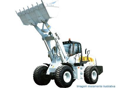 pala cargadora 3 mts/3 - yutong  956h - (cummins sueco)