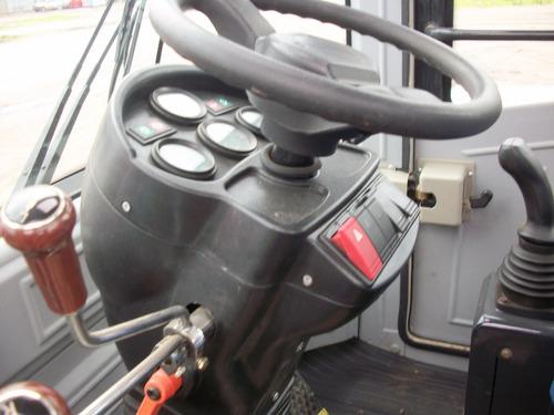 pala cargadora aolite al12-1/2 mts c/joystick 4x4 articulada