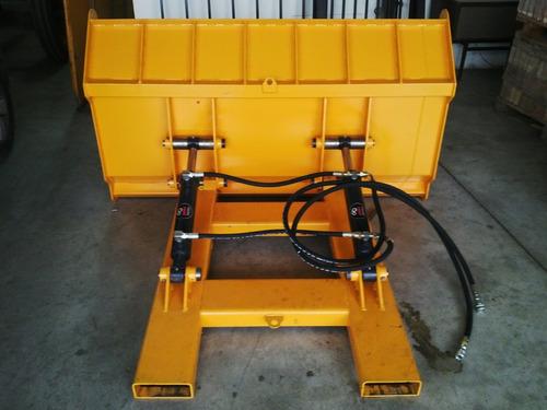 pala cargadora autoelevador 0,5m3 doble cilindro (4 cheques)