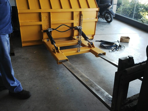 pala cargadora autoelevador 2 m3 doble cilindro (4 cheques)