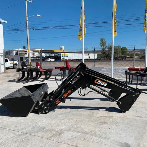 pala cargadora bison 1200 kgs modelo vh-1201-dtp