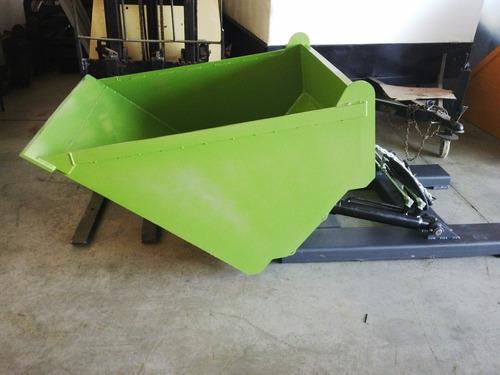 pala cargadora bolsones big bag 0,5 a 2 m3 (4 cheques)