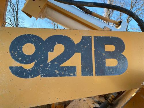 pala cargadora case 921b   patentada 4m3 impecable nqnmaq
