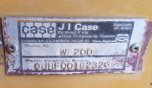 pala cargadora case w20d (1994)