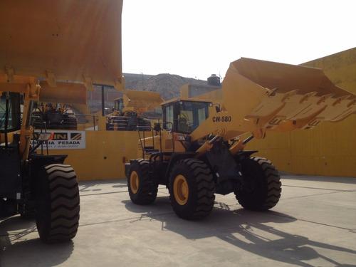 pala cargadora changlin cw580 3m3 nueva