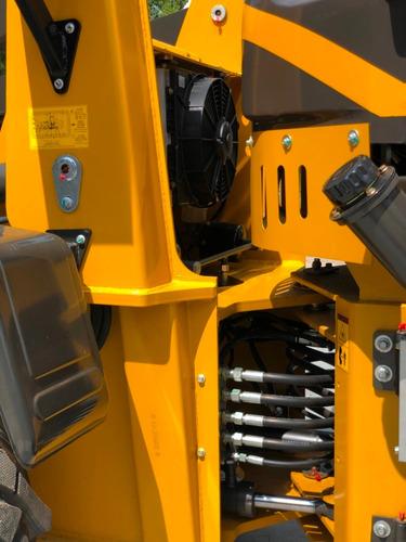 pala cargadora ctx 926 agrícola 1,0 m³ motor 85 hp