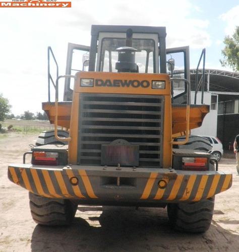 pala cargadora daewoo mega300 (id531)
