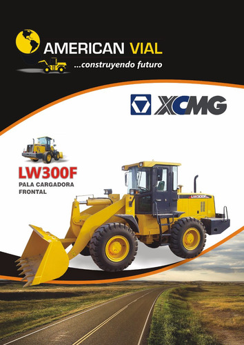 pala cargadora frontal 2m3 xcmg lw321fn usada 2007