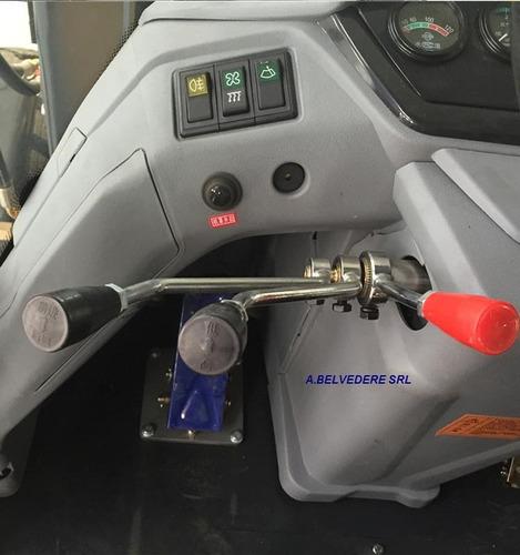 pala cargadora frontal 4wd snsc 2 tonela turbo diesel 102 hp