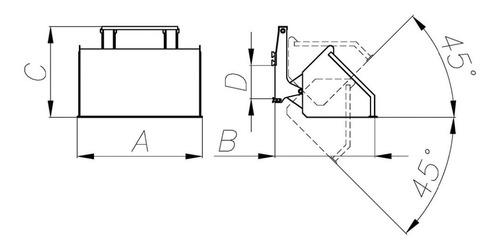 pala cargadora frontal para autoelevador (3-6-12 cheques)