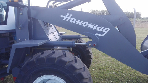 pala cargadora hanomag h150