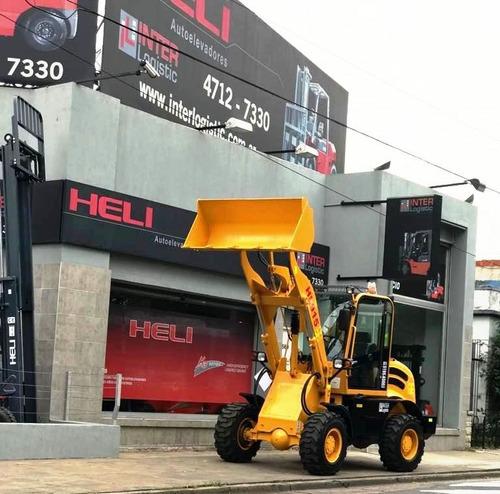pala cargadora heli interlogistic 1500 kg/ balde 0.7m3 nuevo