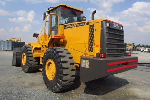 pala cargadora lovol fl958 balde 3 m3 4x4 financiada maqhd