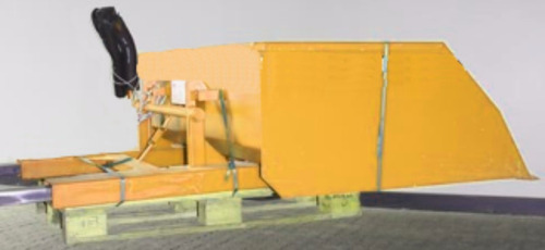 pala cargadora  manual  autoelevador (1 m3) pago 4 cheques