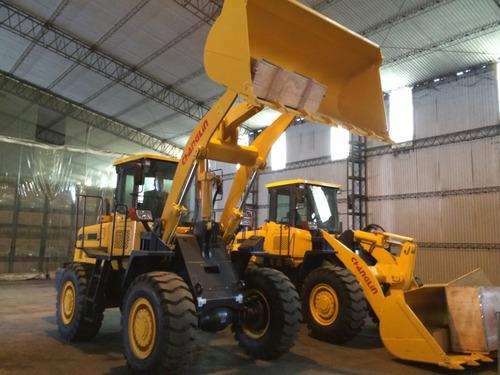 pala cargadora maquinaria construcción