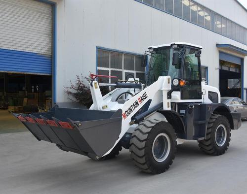 pala cargadora mountain raise 4wd  2 toneladas 103 hp.