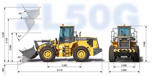 pala cargadora xcmg zl50g 3 m3 en stock financio multicars