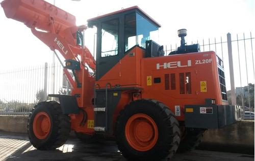 pala cargadora zl20f - heli - 2000 kg - dolar bco. nación!