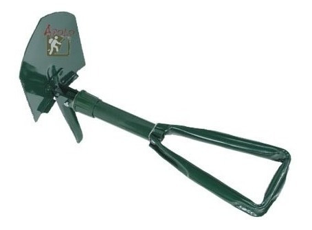 pala con pico waterdog  spf4615 plegable muy práctica