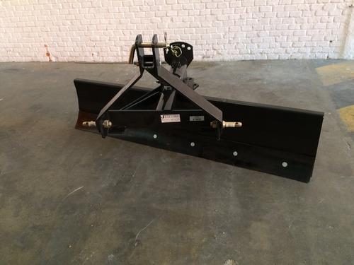 pala / cuchilla niveladora para tractor 2.10 mts reforzada